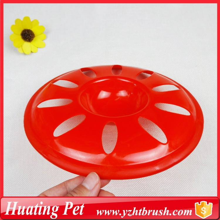 plastic round dog training disc