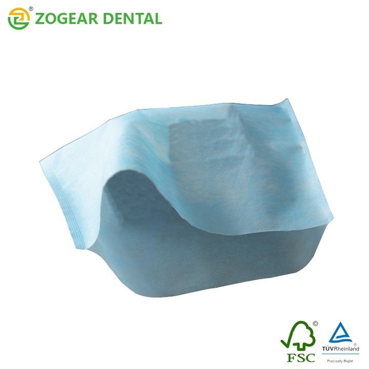 Pb029-2 Zogear Non-Woven Dental Head Rest Cover, Disposable Dental Chair Head Rest Cover