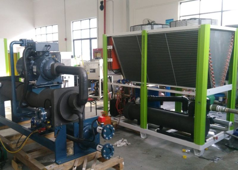 Double Danfoss Compressors 30HP to 60HP Portable Air Cooled Industrial Water Chiller