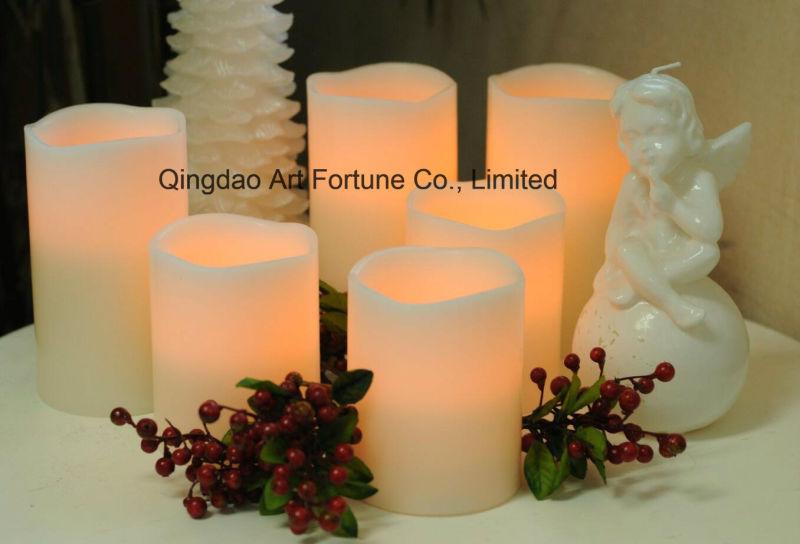Flameless LED Candle with Many Finishes