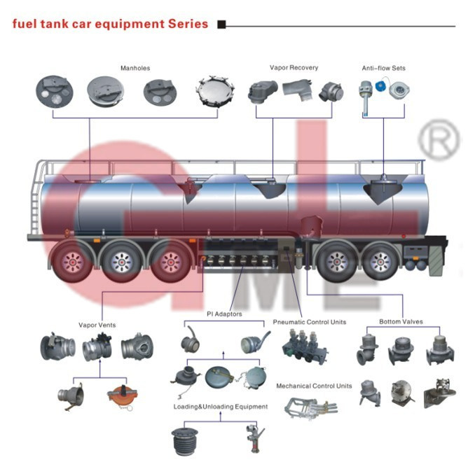 High Quality Aluminum Oil and Gas Vapor Vent Valve (C802A-80)