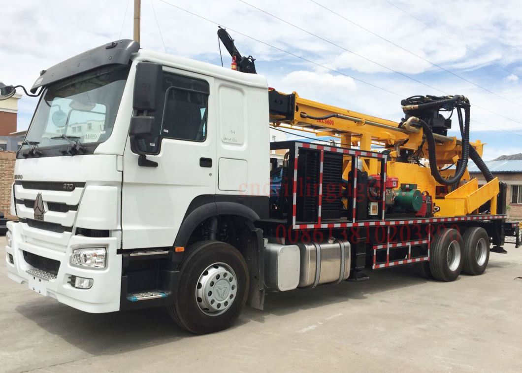 Best Price Hydraulic Truck Mounted Deep Borehole Water Well DTH Drilling Rig Machine Equipment
