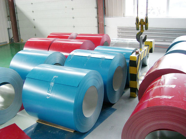 Shandong Color Coated Steel Coil in Cheap Price