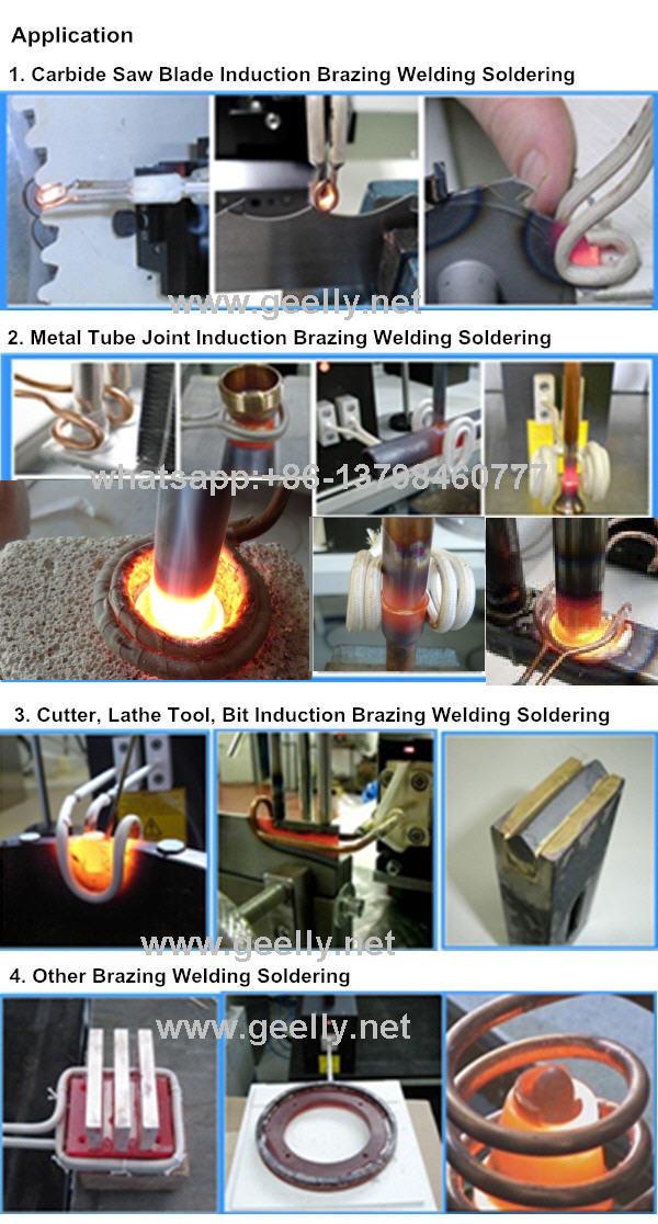 portable Induction Heating Brazing Welding Machine Brazing Welding Various Metals
