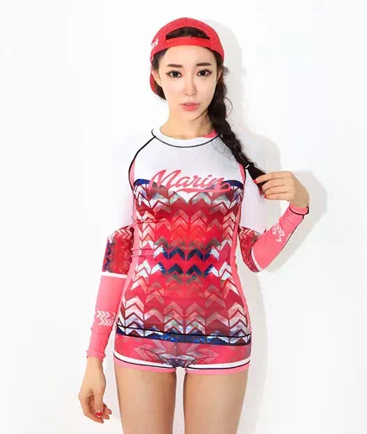 Girls Fashion Leisure Sufing Suits