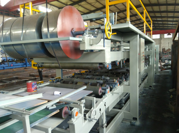 High Quality EPS and Rock Wool Sandwich Panel Production Line