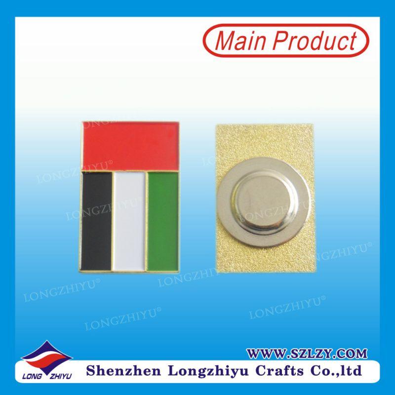 Enamel Flag Badge Friendship Pin Badge