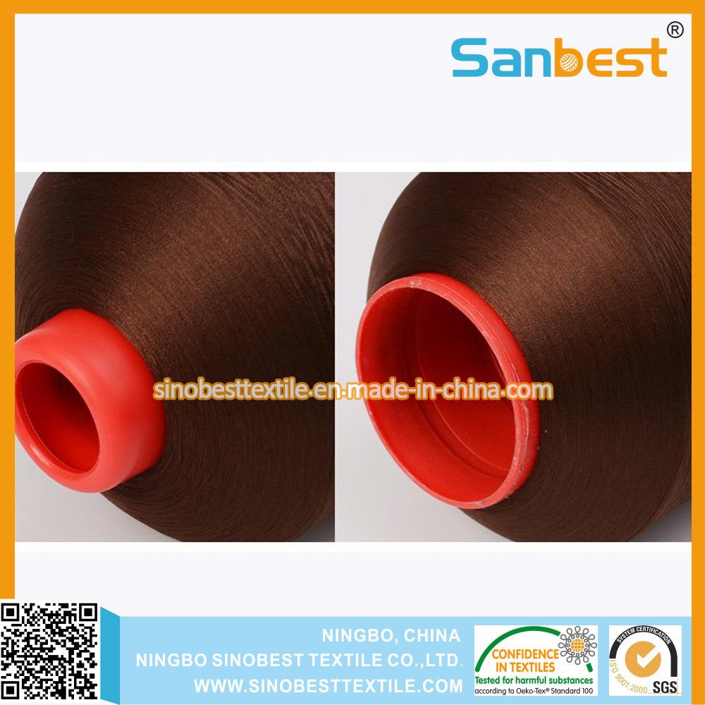 Low Elastic 100% Polyester Overlocking Thread for Babywear