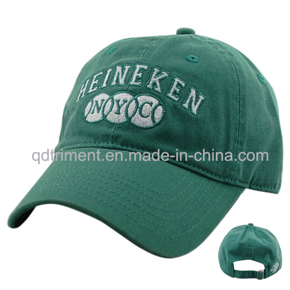 Washed Cotton Twill Embroidery Baseball Golf Sport Cap (TM04949)
