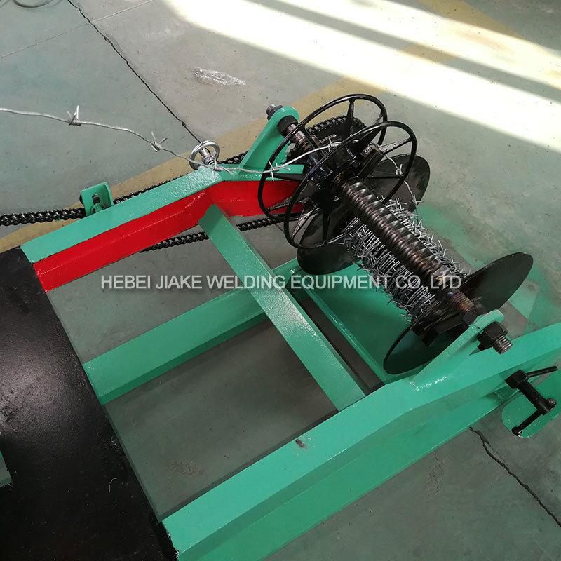 Single Strand Barbed Wire Mesh Making Machine