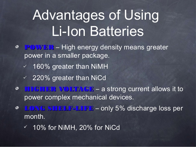 Li-ion Battery 3.7V Rechargeable Battery 2500mAh Samsung-25r