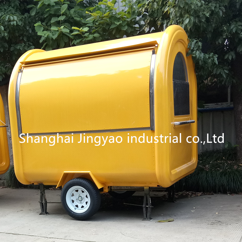 High Quality Popular 2 Wheels Mobile Ice Cream Fryer Griddle Stove Sink Oven Fridge and Other Kitchen Equipments Inside Truck Price for Sale