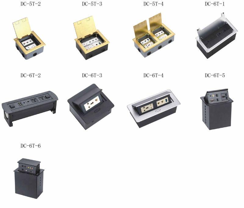 Floor Socket, Ground Socket, Desktop Socket