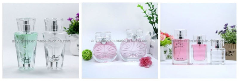 Perfume/ Fragrance Glass Spray Bottle with Pump and Cap