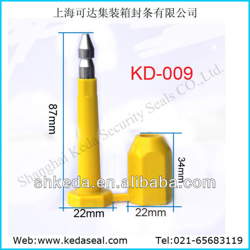Bullet Barrier Container High Security Bolt Seal for Transport (KD-012)