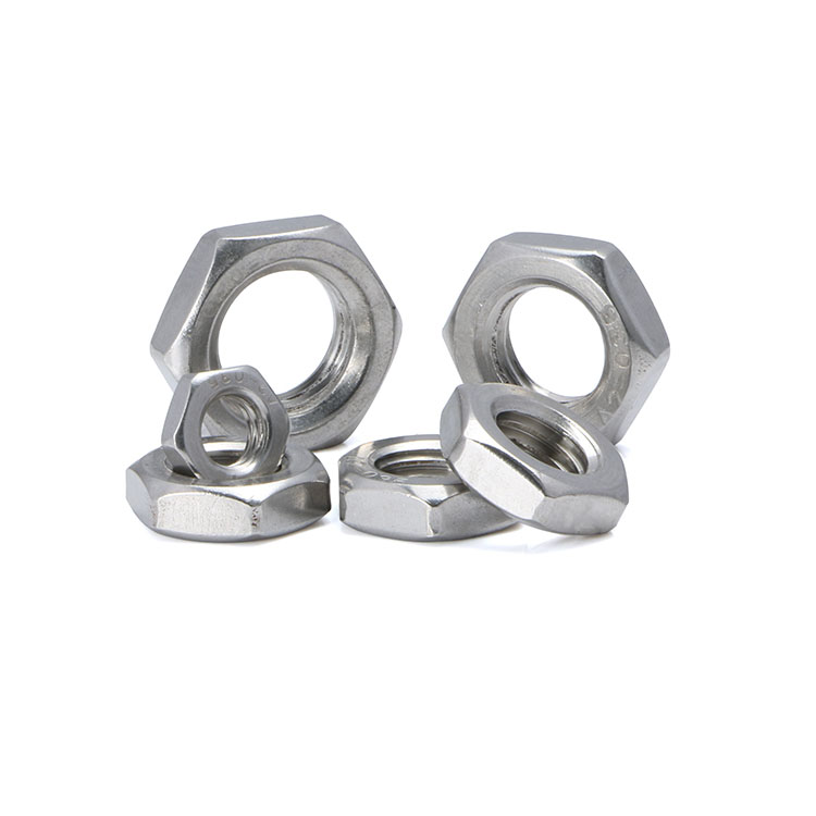 stainless steel inch hex nut