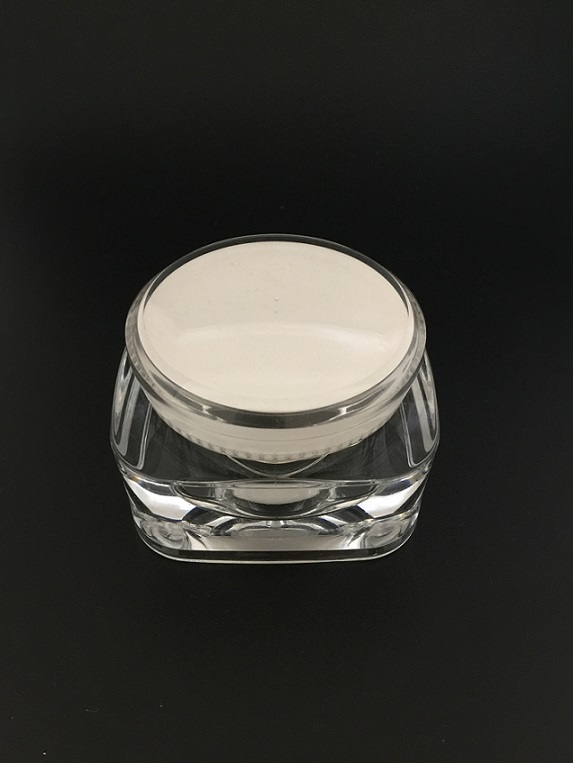Round Square Cream Jars for Cosmetic Packaging