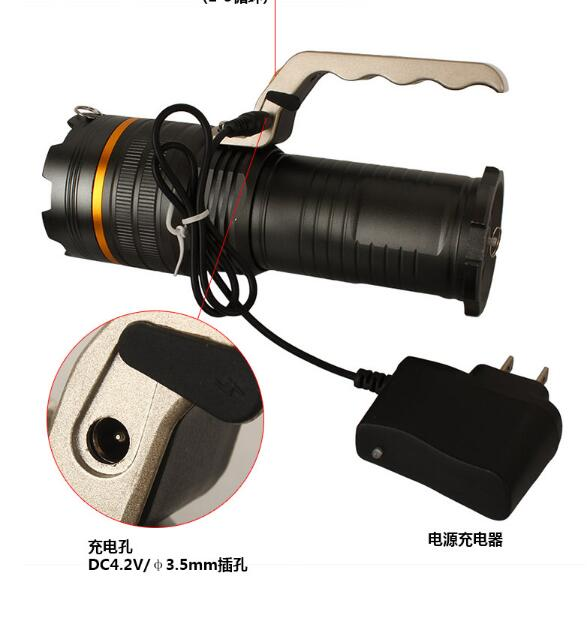 Y58 Aluminum 10W High Power Xml T6 LED Extendable Portable Light