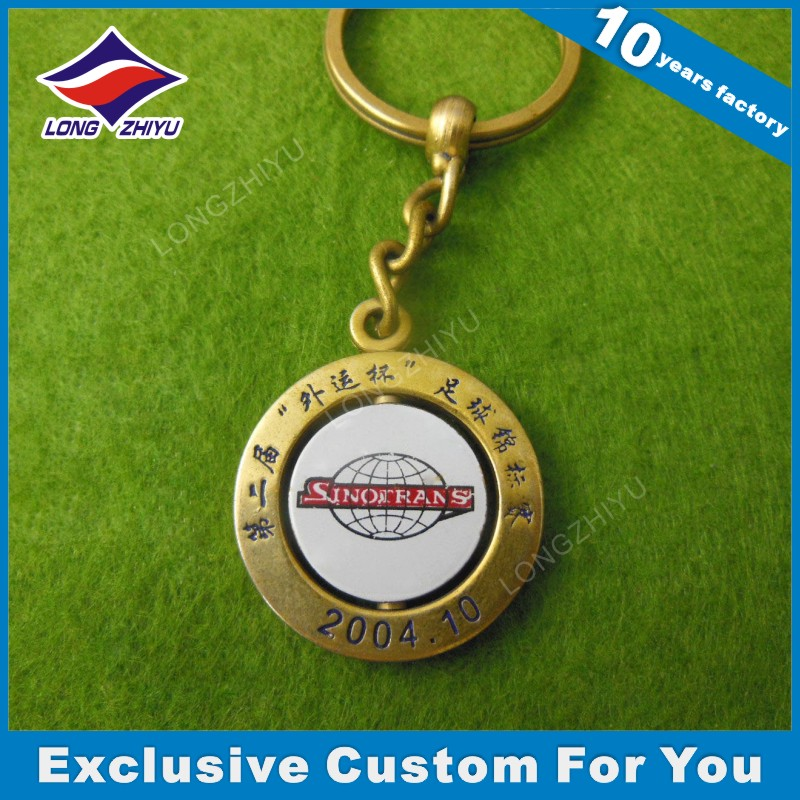 Custom Metal Keychain for Souvenir Promotion Gift