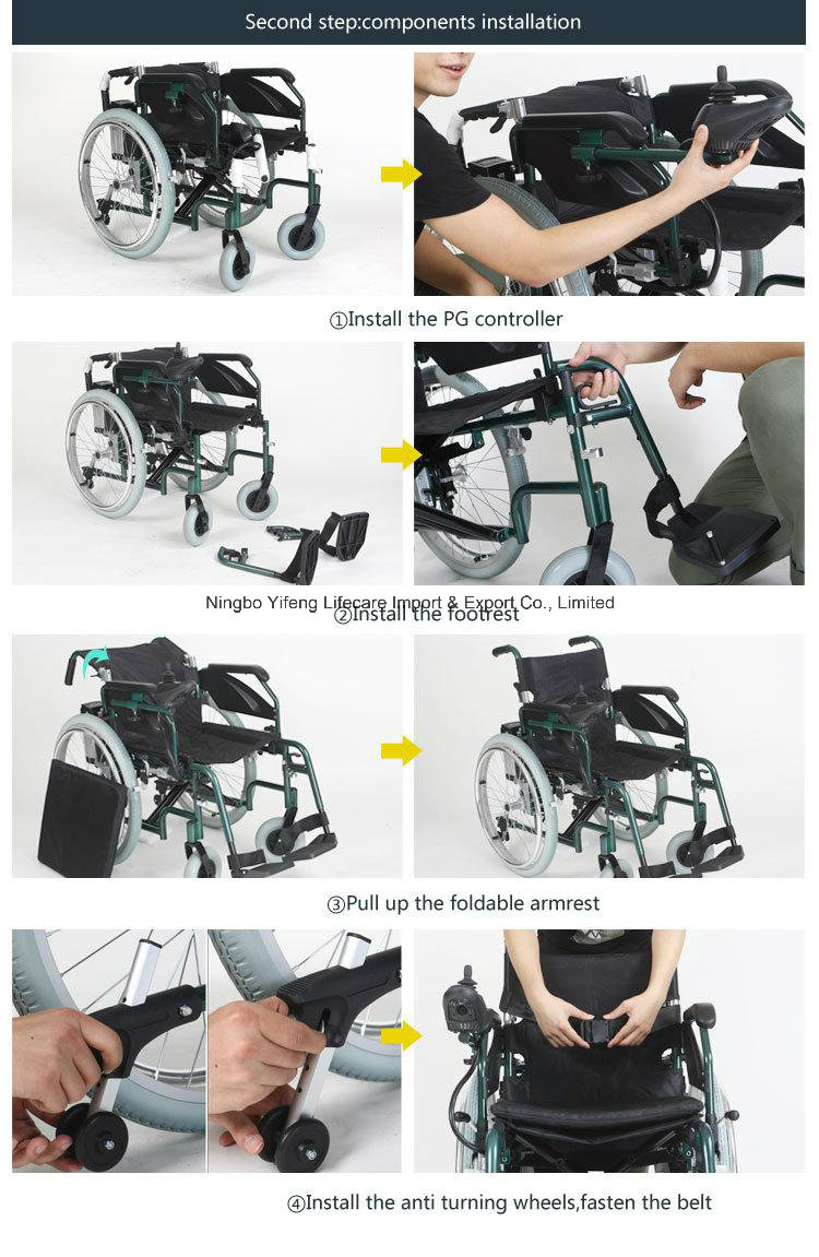 Medical Smart Electric Wheelchair for Disabled People