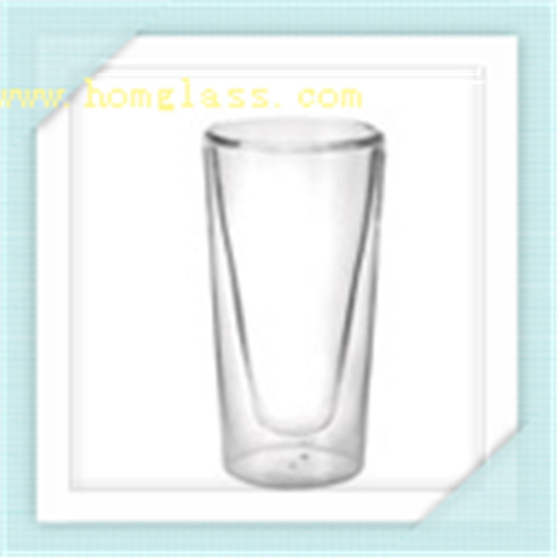 Borosilicate Double Wall Glass Cup Mug