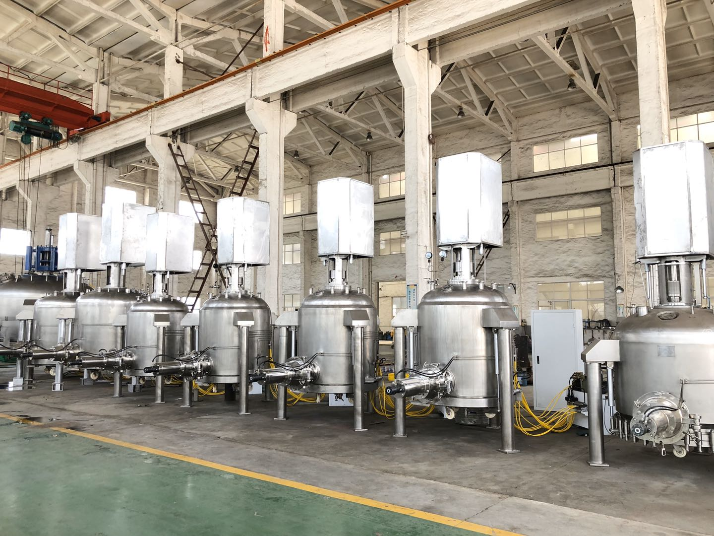 Filtering Washing And Drying Equipment