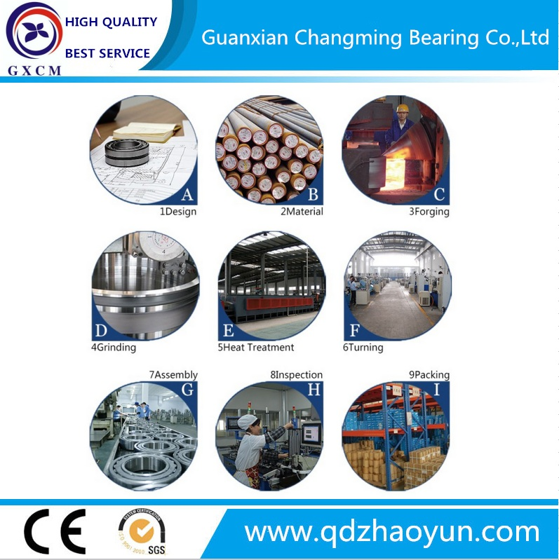 China Bearing Factory Auto Deep Groove Ball Bearing