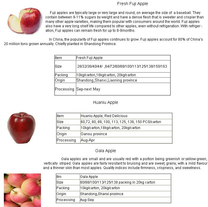 2015 New Fruit Fresh FUJI Apple