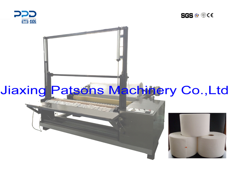 High Quality Nonwoven Fabric Slitting Rewinder Machine