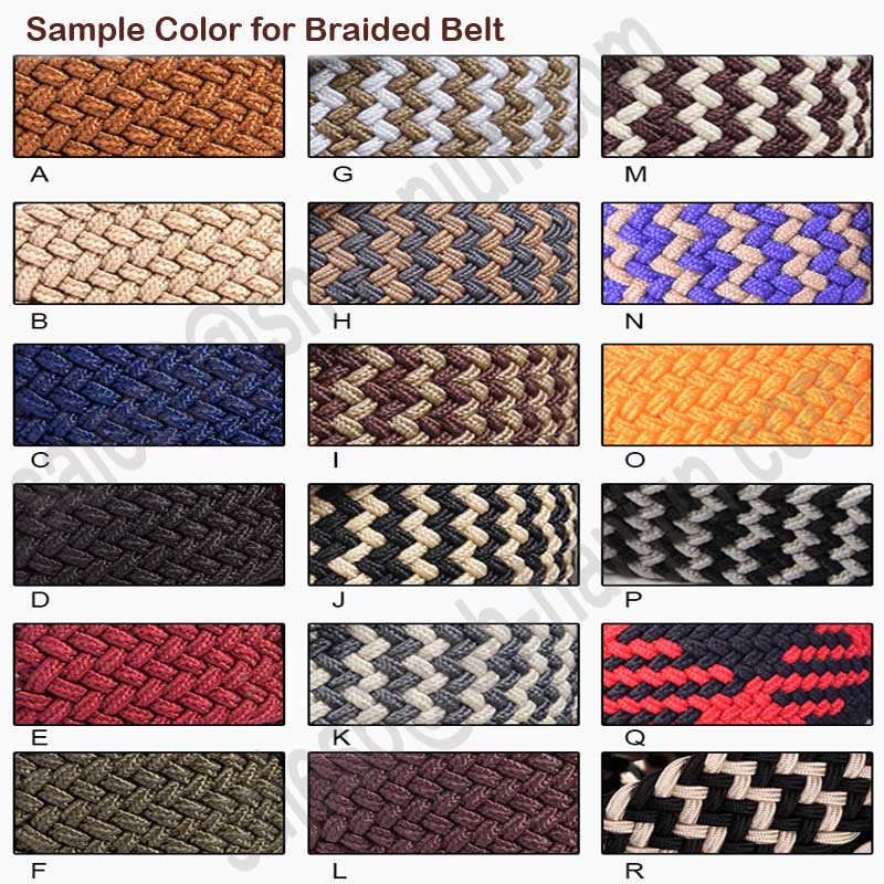 New Fashion Factory Bottom Price Best Selling Pain Elastic Braid Belt