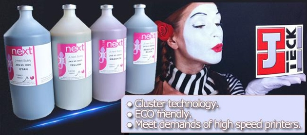 J-Teck Dye Sublimation Ink for High Speed Industry Print Head Kyocera