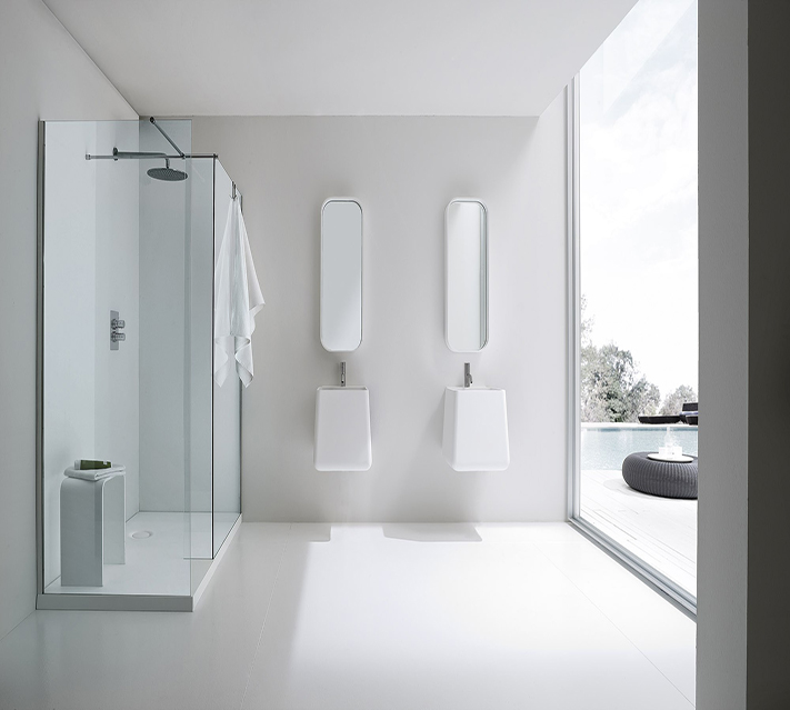 6mm shower partition glass