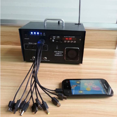 1ow solar FM radio kit