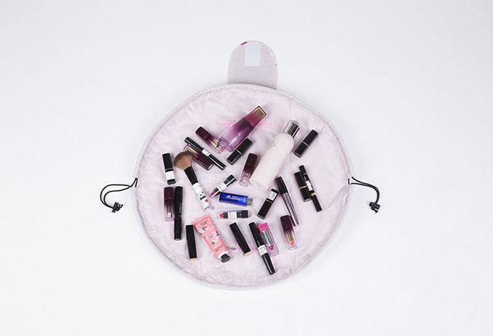 Makeup Bag Large Capacity Portable Drawstring Collection Travel Simple Cosmetic Bag