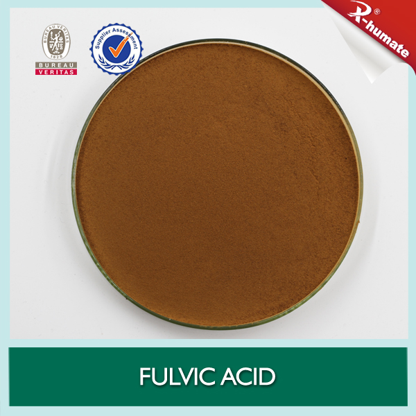 Fulvic Acid 80%Min Powder for Fast and Totally Soluble in Water