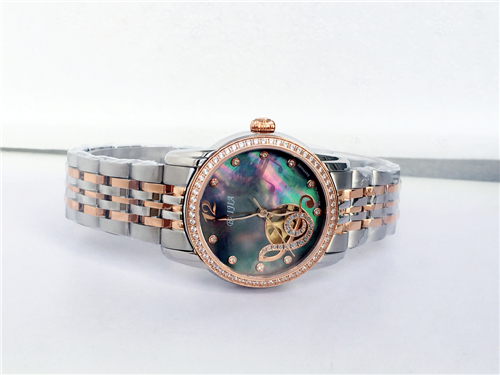 Fashion Japan Movement Automatic Stainless Steel Ladies Watch