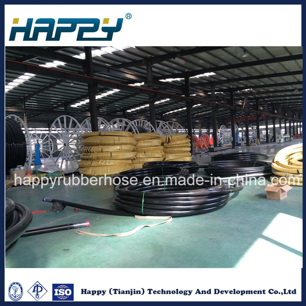 SAE100 R4 Textile and Steel Wire Reinforcement Hydraulic Suction & Delivery Rubber Hose