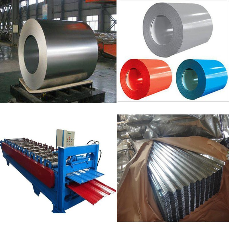 Roofing Glazed Step Tiles Roll Forming Machine Made in China