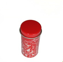 Chinese Traditional Design Enamel Tea Canister