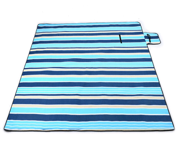 Suede Easy Carry Foldable Outdoor Beach Picnic Mat