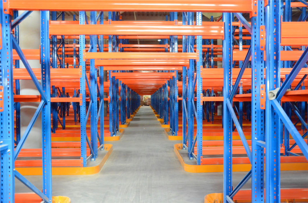 Selective Warehouse Steel Storage Solution Vna Pallet Racking