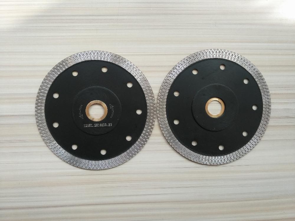 Beste Qualität 1PCS 5 Zoll 125mm Diamant Sägeblatt für Fliesen Keramik