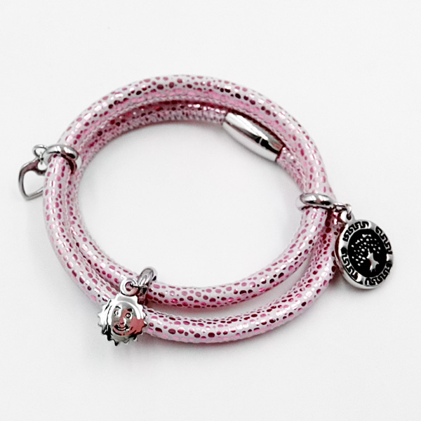 Sting Ray Leather Bracelet with Custom Made Charms