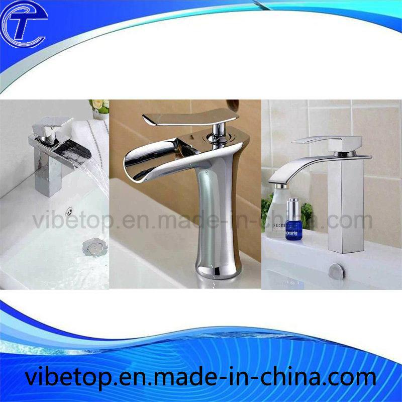 Kitchen/Bathroom/Basin LED Temperature Control Faucet/Taps/Mixer