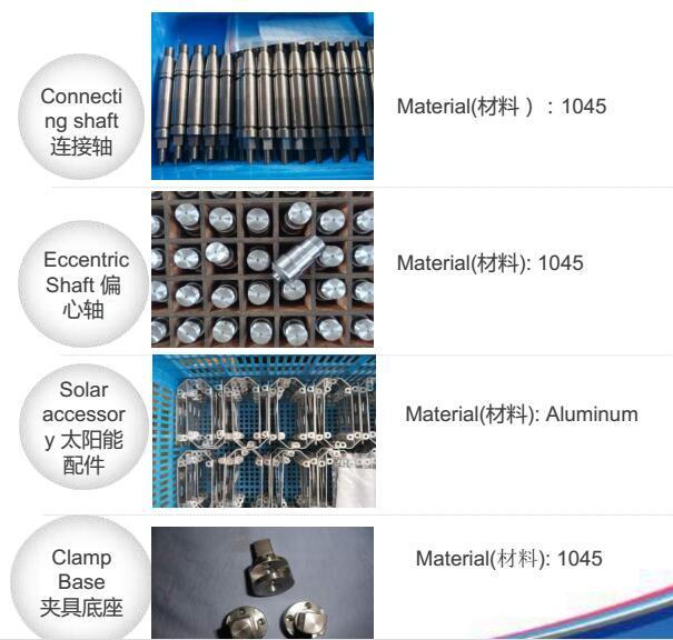 Metal Steering Valve Spare Parts/ Custom Aluminum