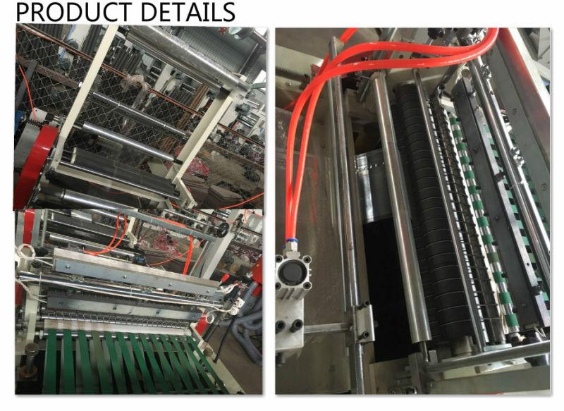 Side Sealing Heat Cutting Plastic Polythene Bag Making Machine