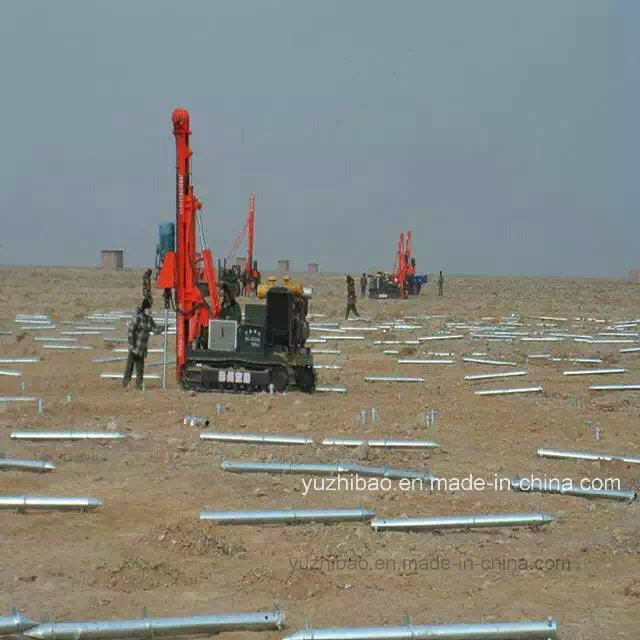 Galvanized Ground Screw Pile, Ground Spike