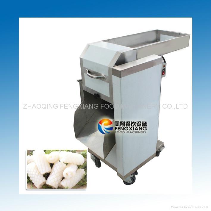 Squid Cutting Machine Squid Cutter Squid Pattern Slicing Machine