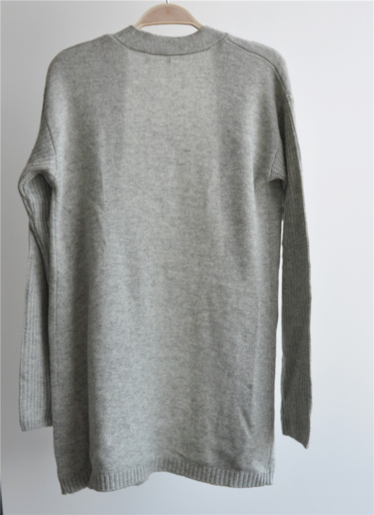 Merino Wool Blend Soft Open Cardigan for Ladies