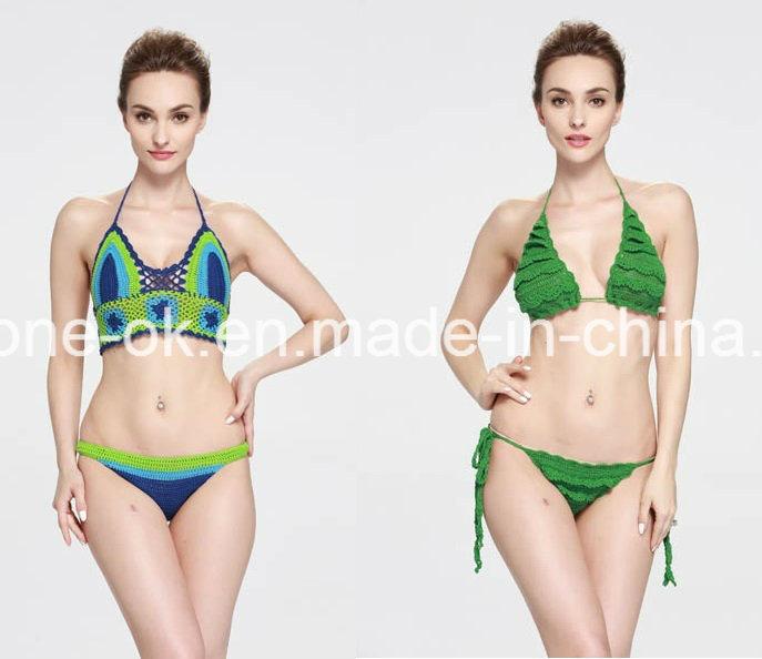 Crochet Dress Beachwear Swimwear Swimsuit Bikini Lingerie Swimming Wear Apparel